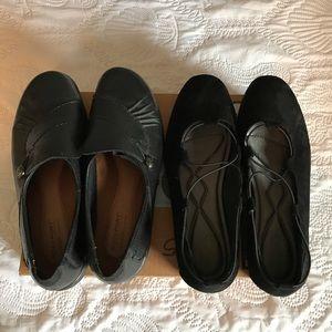 Rock port and Baretrap shoes